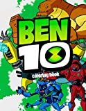Ben 10 Coloring Book: Coloring Book For Kids and Adults with Fun and Easy Coloring Pages for Сartoon, Book and Films Lovers, 30 illustrations, 8.5x11