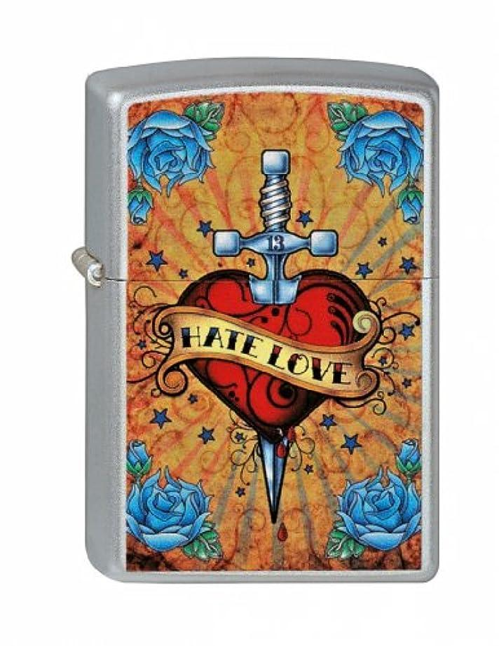 フック繁栄月ヨーロッパ直輸入Zippo(ジッポー):UL13 Hate to love/2000894