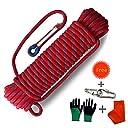 Procity クライミングロープ プロフェッショナル アウトドア 静電気 ロッククライミングロープ エスケープロープ アイスクライミング機器 ファイアレスキューパラシュートロープ