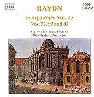 Symphonies 72, 93 & 95