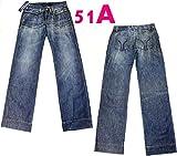 ミスシックスティ ボトムス パンツ JC4R00DX0021 JC4R00DL0005 ワイド バギー 24インチ ブルー/51A