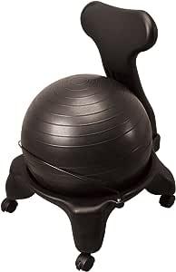 秦運動具工業 バランスボールチェア50cm ブラック DB120CB