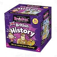 Brainbox British History Ten Minute Brain Challenge Game