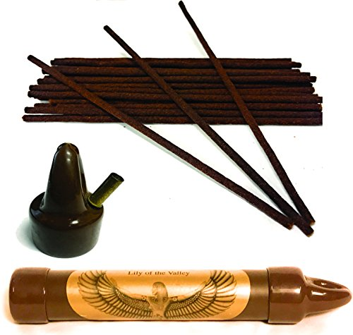 Purest Coreless Incense - Dragon's Blood - USA Made, Cosmetic Grade Oils, No Bamboo Core, Sandlewood, Plumeria, Dreams, Opium, Gardenia, Jasmin & More. The Best Incense Ever.