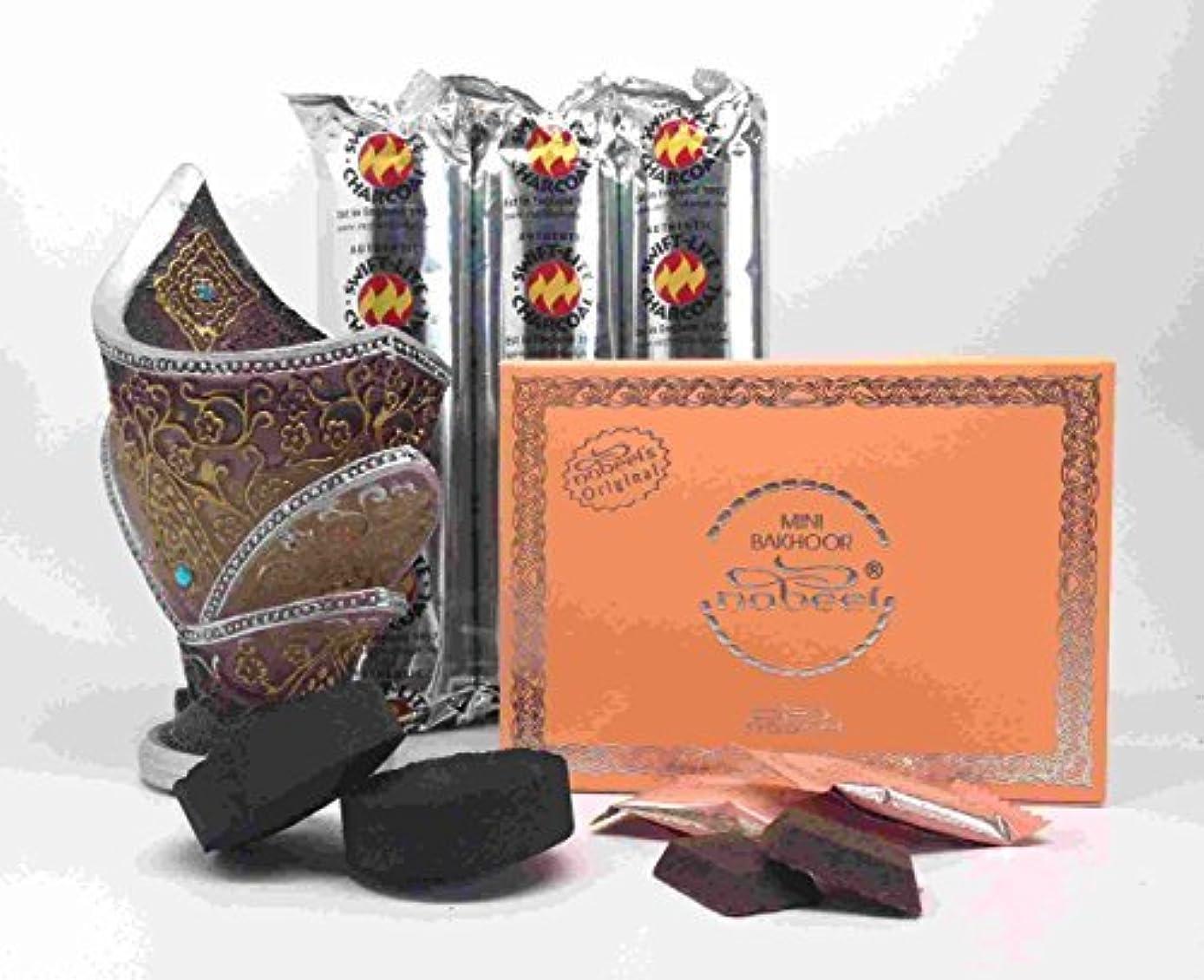 供給香りスプーンOudh and Bakhoorお香ギフトセットby Nabeel B01MAZMZ91