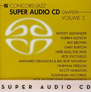 Concord Jazz Super Audio CD Sampler 2