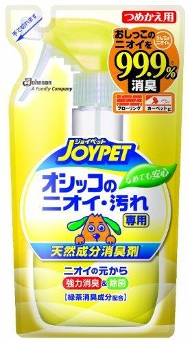 ジョイペット 天然成分消臭剤 オシッコ汚れ専用 詰替  240mL