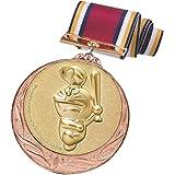 ドラえもん メダル 銅 野球 直径70mm 日本製 DRZ-2005C