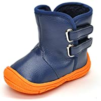 Estamico Toddler Boys Gilrs Rubber Sole Warm Winter Snow Boots