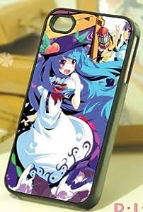 東方project iPhone 4/4S ケース カバー 【比那名居 天子】B