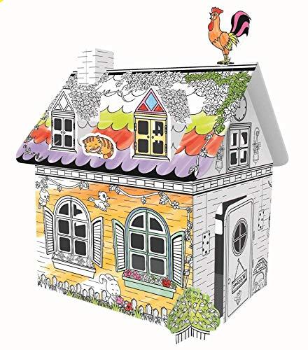 DIY 子供の落書き屋さん 手描き 芸術玩具 カスタマイズ お絵描き 子供遊戯室 知育玩具 子供プレゼント (s)