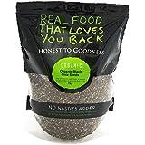 Honest to Goodness Organic Chia Seeds Black, 1 Kilograms