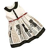【ノーブランド 品】幼児 子供 女の子 夏 服 サンドレス プリンセスドレス チュチュスカート 贈り物 全5サイズ  - 90cm