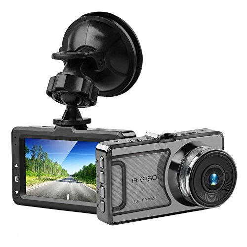 AKASO ドライブレコーダー 駐車監視 動き検知 車載カメ...