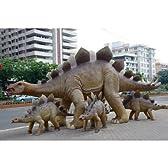 全長8.6m!ステゴザウルス巨大フィギュア(恐竜等身大フィギュア)