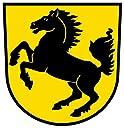 シュトゥットガルトドイツの国章ステッカーデカール4 x 4