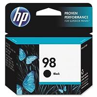 HP 98 ブラック オリジナルインクカートリッジ (C9364WN) HP Deskjet 6940 6988 HP Officejet 100 150 H470 HP Photosmart 2575 C4150 C4180 8049 8050用 (認定整備済み)