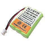 【大容量/通話時間1.5倍】ブラザー BCL-BT30/パイオニア TF-BT10/パナソニック KX-FAN39 コードレスホン 子機 充電池 互換 バッテリー 【ロワジャパン】