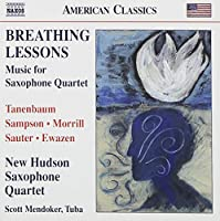 Breathing Lessons-Music for Saxophone Quartet
