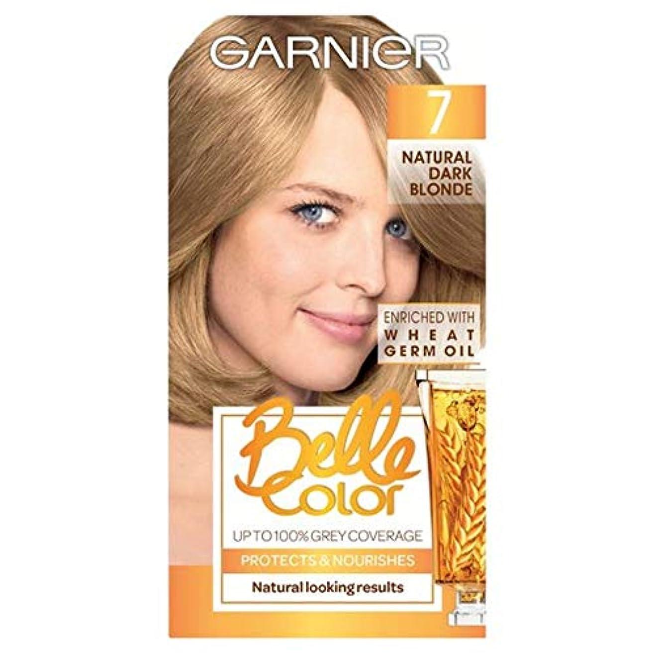 襲撃条件付きシーフード[Belle Color ] ガーン/ベル/Clr 7ナチュラルダークブロンドパーマネントヘアダイ - Garn/Bel/Clr 7 Natural Dark Blonde Permanent Hair Dye [並行輸入品]