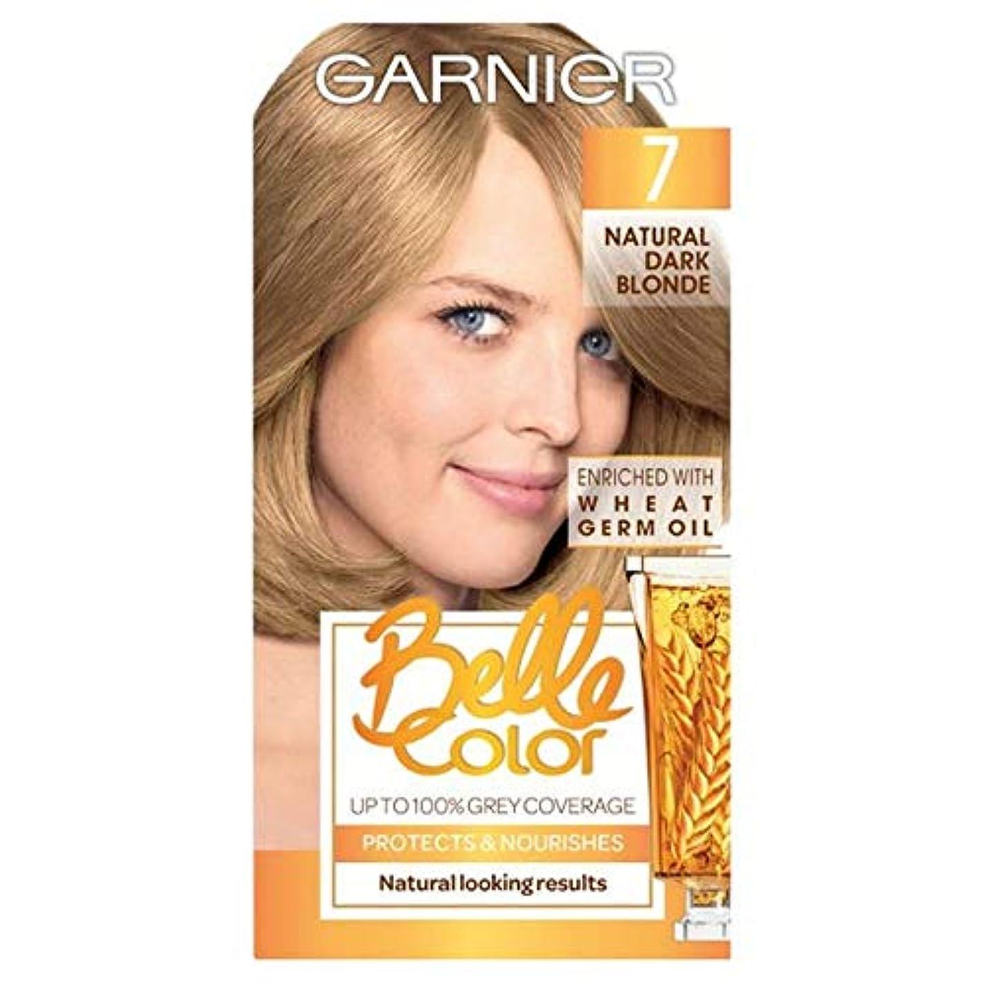 憂鬱な普通のに話す[Belle Color ] ガーン/ベル/Clr 7ナチュラルダークブロンドパーマネントヘアダイ - Garn/Bel/Clr 7 Natural Dark Blonde Permanent Hair Dye [並行輸入品]