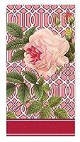 Ideal Home Range BF706700 Caskata Studio 16 Count Paper Buffet Guest Towels, Trellis Rose [並行輸入品]