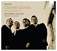 Brahms: Clarinet Quintet, String Quartet No.2 by Jerusalem Quartet (2013-04-09)