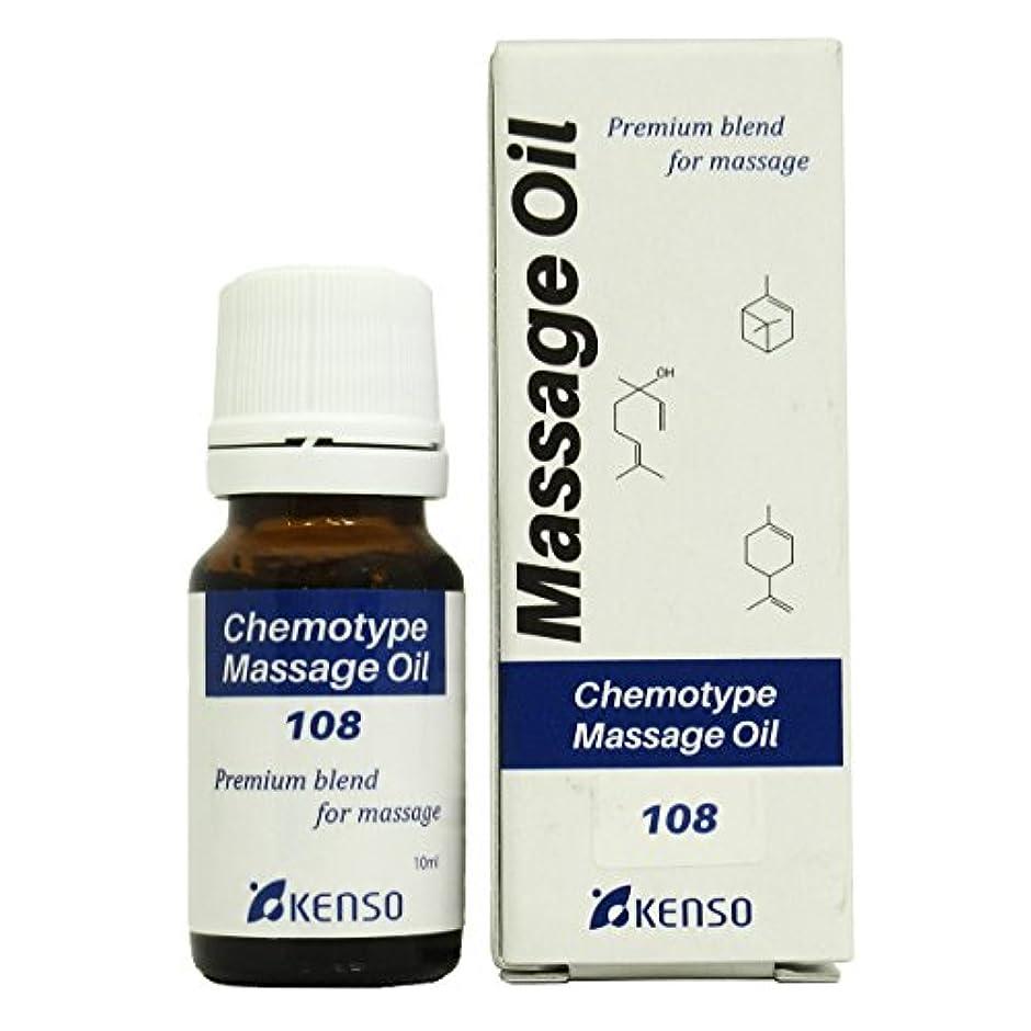 非アクティブ有毒焦がすケモタイプマッサージオイルNシリーズ レシピNO. 108
