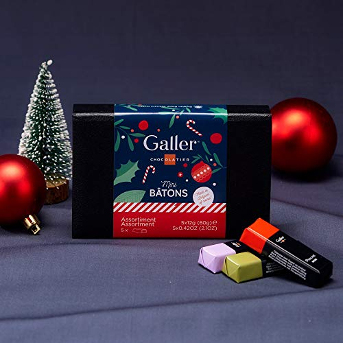 ガレー Galler ミニバーラグジュアリーギフトボックス 5本入 (2019年クリスマス限定パッケージ)