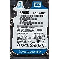 wd3200bevt-22a23t0、DCM hhbvjan、Western Digital 320GB SATA 2.5ハードドライブ