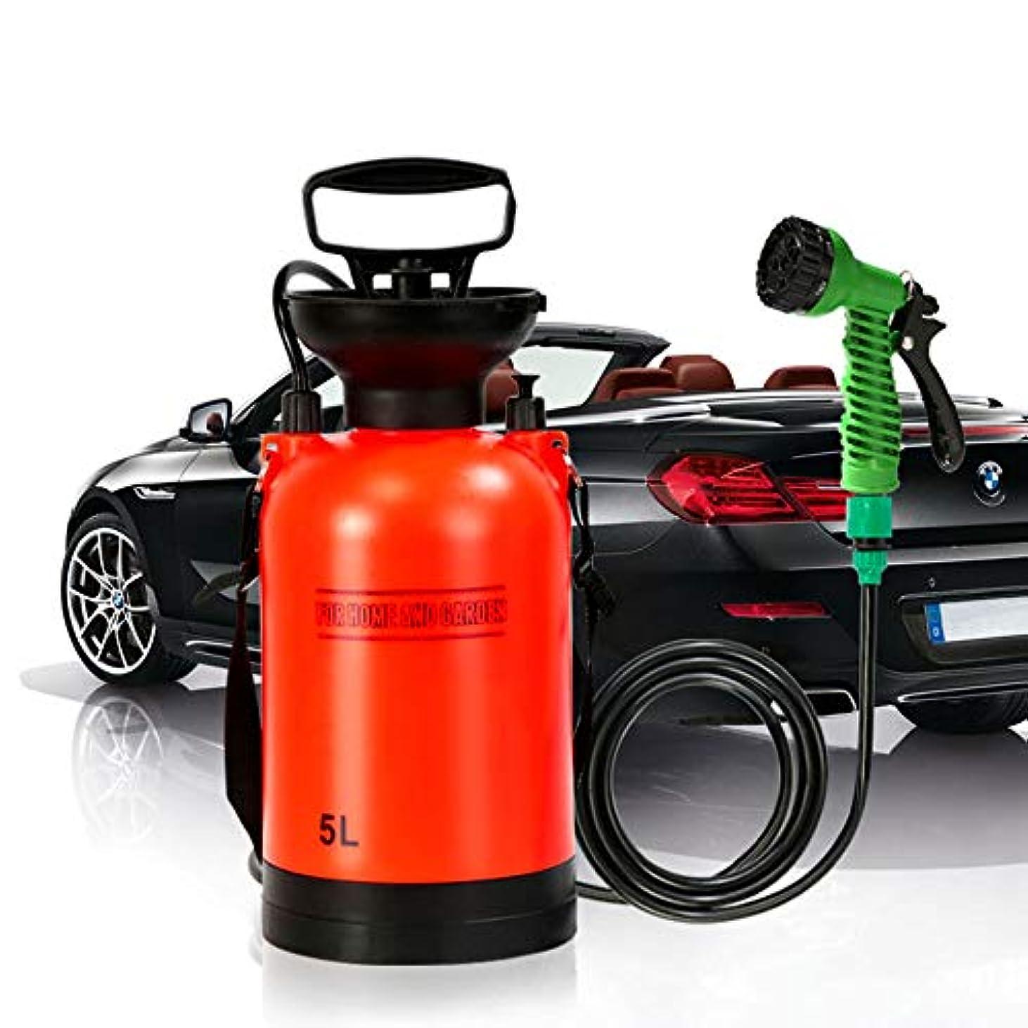 ヒット電気参加する屋外キャンプシャワーポータブル、バス多機能噴霧器旅行シャワー散水車ウォッシュ小型噴霧器旅行水タンク