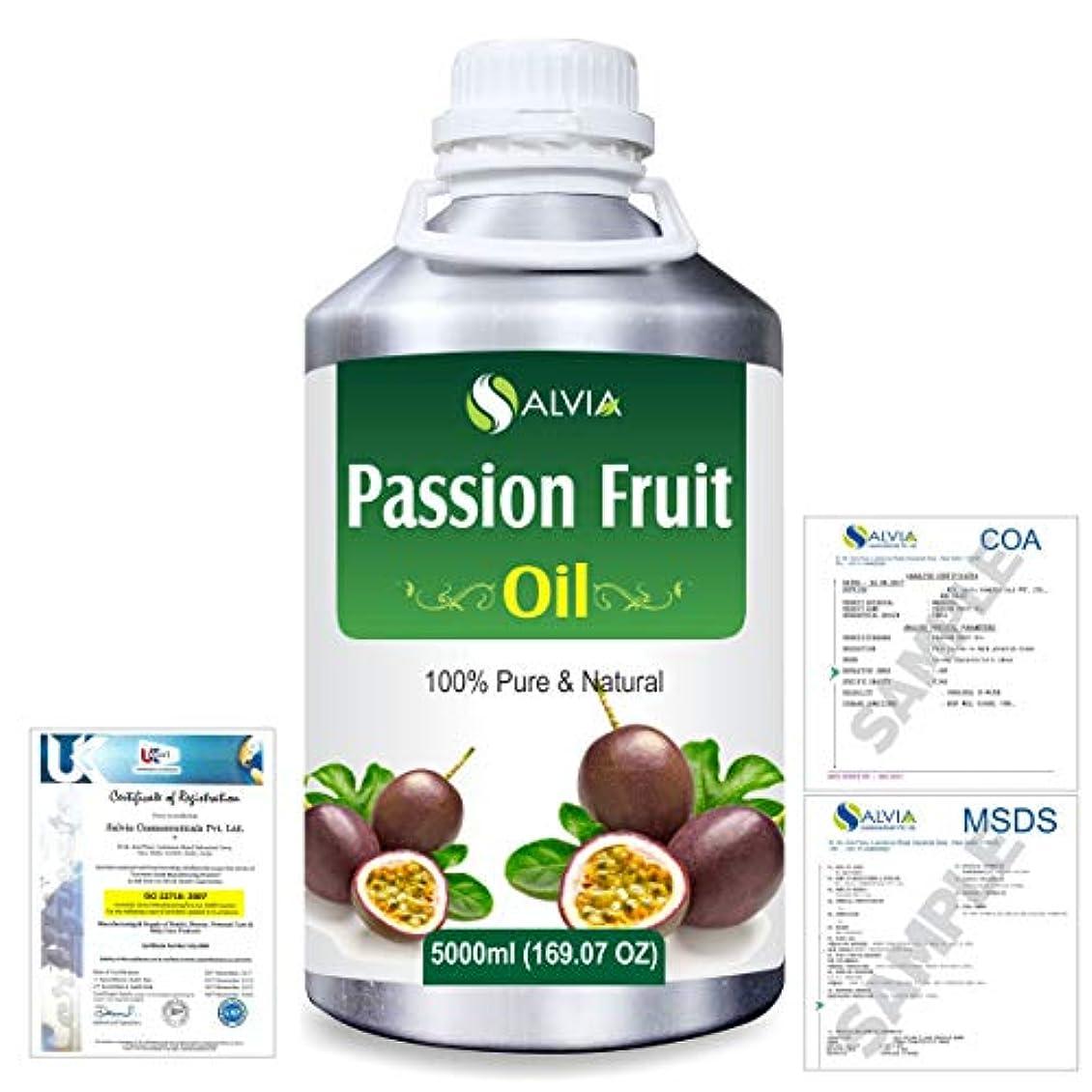 詩賃金ベッドを作るPassion Fruit (Maracuja) Natural Pure Undiluted Uncut Carrier Oil 5000ml/169 fl.oz.