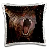 3drose Simone Gatterweデザイン恐竜–Tyrannosaurus Rex King Tyrant Lizard Also Known Colloquially as T Rex–枕ケース 16x16 inch Pillow Case pc_201006_1