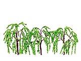 ポポンデッタ ポポプロ ジオラマコレクション 「memory's」 ジオラマ樹木 柳 50mm 3本入り MT-012 ジオラマ用品