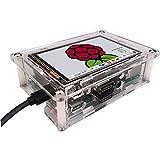 OSOYOO(オソヨー) HDMI 3.5 インチ LCD ディスプレイ IPS モニター IPSタッチスクリーン 1920x1280ハイビジョン Raspberry Pi 3 2 Model B に対応 (3.5