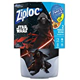 Ziploc Brand Container Twist n' Loc Featuring Star Wars Design, Medium, 32oz, 2ct