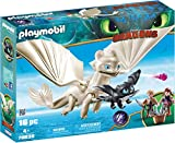 Playmobil 70038 DreamWorks Light Fury with Baby Dragon and Children, Various