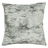 チャンドララグcus28027–22装飾コットン枕、22インチ、ライトグレー