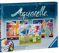 Ravensburger 29463 - Weltstädte - Aquarelle Maxi, 30 x 24 cm [並行輸入品]