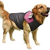 PAWZ Road  大型 犬服 冬物 ウインターウェア ソフト ジャケット 防寒 3L レッド