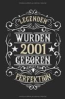 Legenden wurden 2001 geboren gereift zur Perfektion: 18. Geburtstag: Ein Notizbuch oder Album mit Platz auf 120 punktierten Seiten fuer Erinnerungen, Erlebnissen, Wuenschen, Hoehepunkten, Witzen, Glueckwuenschen, Spruechen, Gedichten, Fotos, Zeichnungen