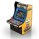 DreamGEAR MyArcade 6.75インチ レトロ BURGERTIME ミニゲーム イエロー & ブラック DGUNL-3203