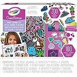 Crayola Creations 100 Piece Smash Journal Kit, Scrapbooking, Stationery, Girls Aged 8, 9, 10, 11, 12
