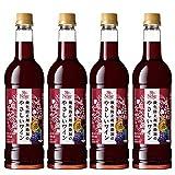 サントネージュ 酸化防止剤無添加のやさしいワイン 赤 [ 720ml×4本 ]