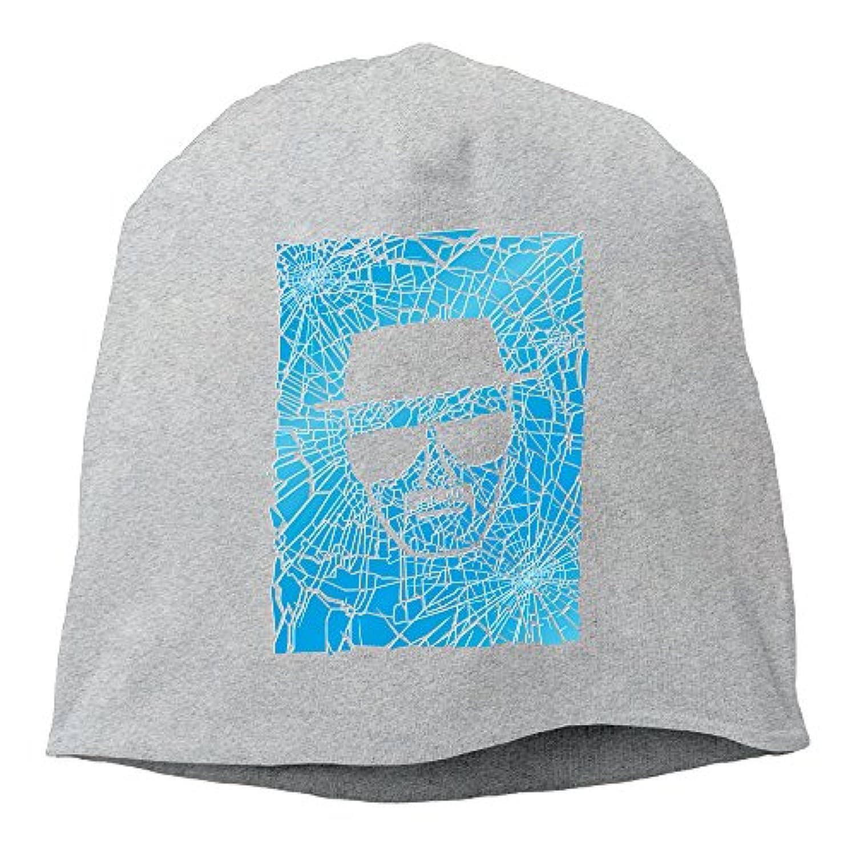 【Dera Princess】メンズ レディース ニット帽 The Ice Manロゴ コットン ニットキャップ 帽子 オールシーズン 被れる