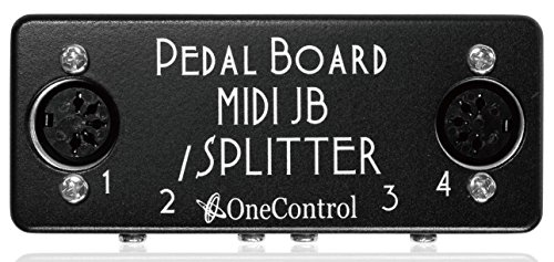 One Control ワンコントロール Minimal Series ジャンクションボックス Pedal Board MIDI Junction Box / Splitter