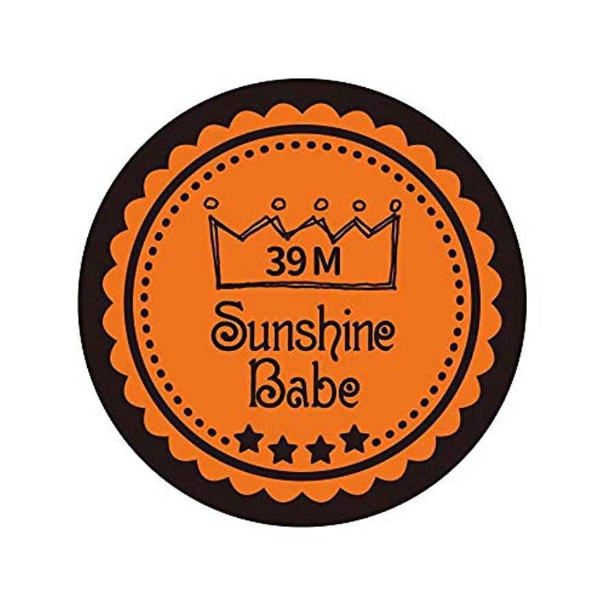 ダース六裁定Sunshine Babe カラージェル 39M ラセットオレンジ 2.7g UV/LED対応