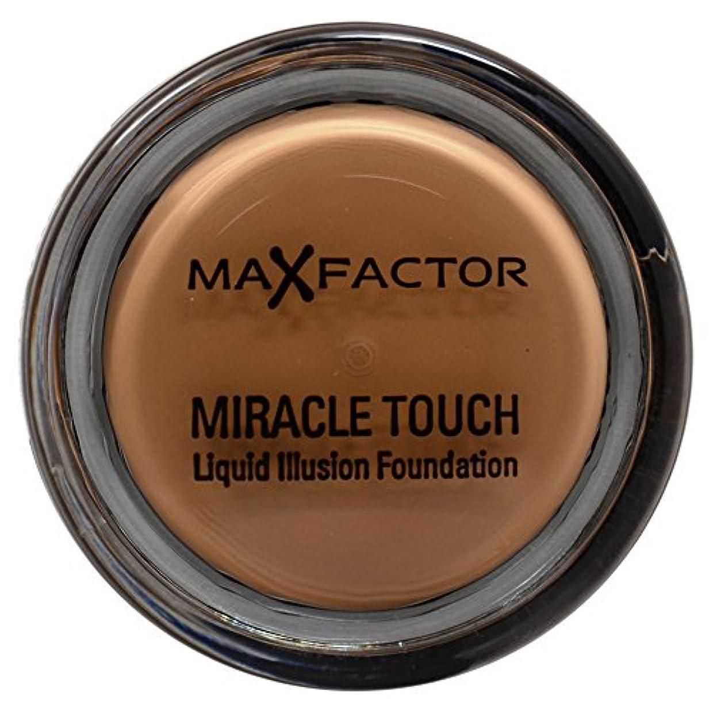 マインド愚かなノベルティマックス ファクター ミラクル タッチ スキン スムーズ ファウンデーション - ブロンズ Max Factor Miracle Touch Skin Smoothing Foundation - Bronze 080 [並行輸入品]