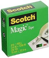 3M 8100.75X 1000- Inch Scotchマジックテープ(パックof 12)