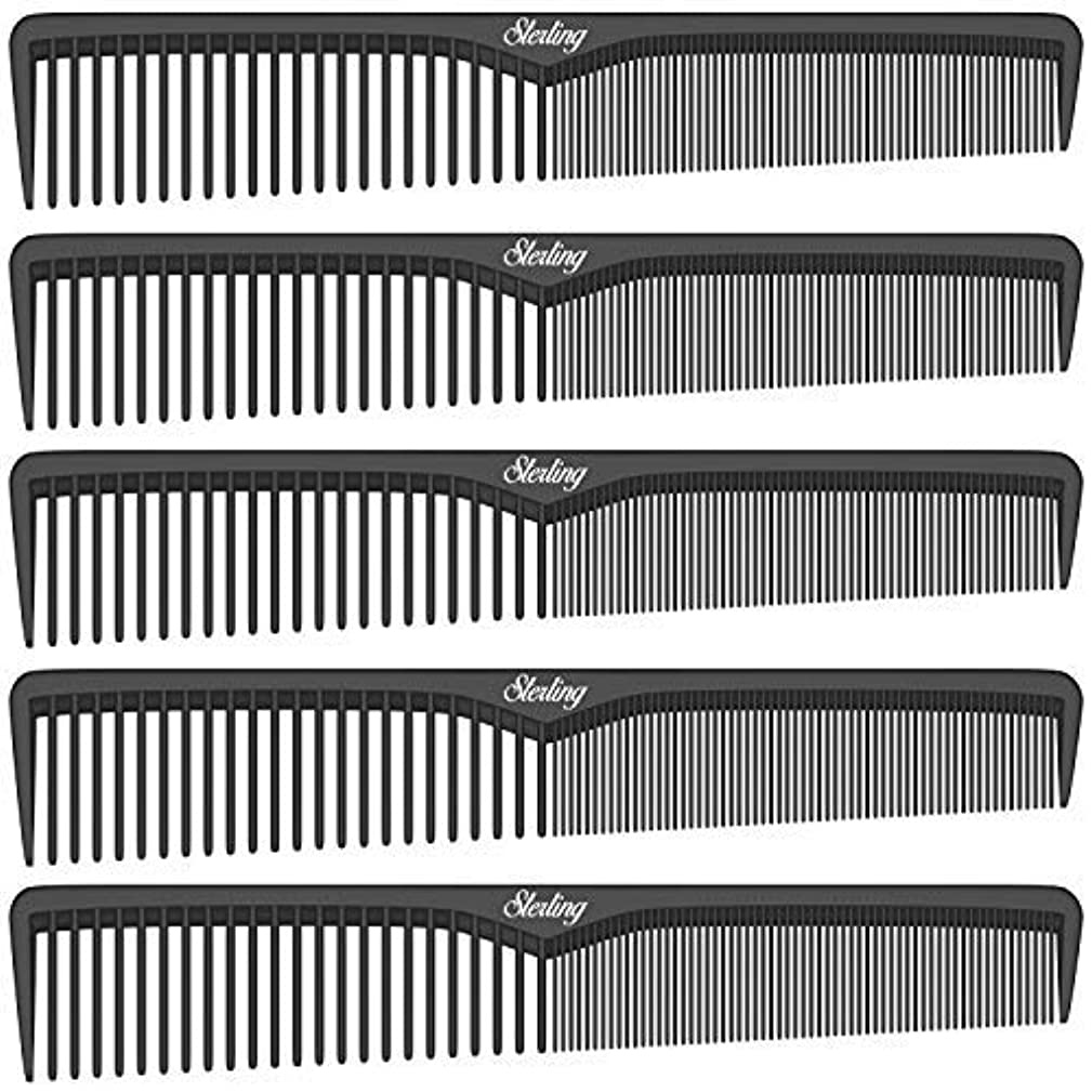 国家束薬を飲むSterling Beauty Tools Styling Combs, Professional 7